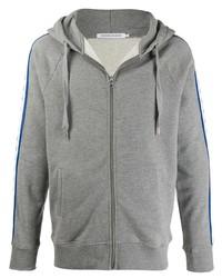 Calvin Klein Jeans Logo Tape Zip Up Hoodie