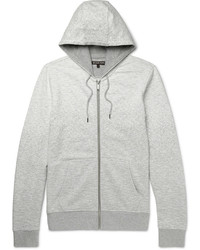 Michael Kors Michl Kors Dgrad Loopback Cotton Jersey Zip Up Hoodie