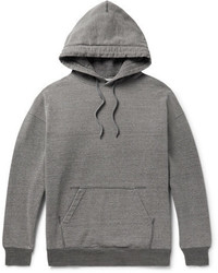 Beams Mlange Loopback Cotton Jersey Hoodie