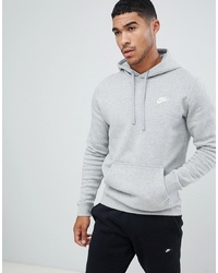 Nike Pullover Hoodie With In Grey 804346 063