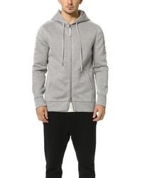 Sponge fleece tape zip hoodie medium 575327