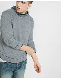 Express Textured Hooded Pullover Sweater