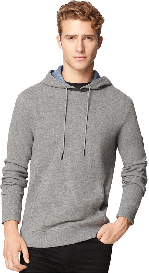 Calvin Klein Jeans Waffle Knit Hoodie Where To Buy How To Wear