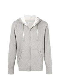 rag & bone Zipped Hooded Sweatshirt