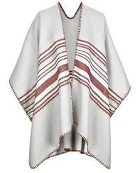 Topshop Stripe Blanket Cape