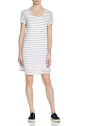 Splendid Striped T Shirt Dress 100% Bloomingdales
