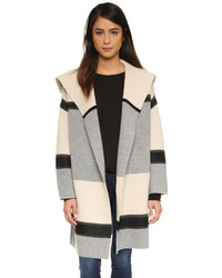 Vince Colorblock Car Coat