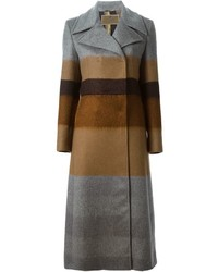 Etro Long Striped Coat