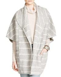 Free People Poncho Style Blanket Coat