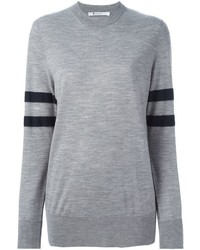Alexander Wang T By Sleeve Stripe Sweater