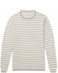 Anderson Sheppard Striped Cotton Sweater