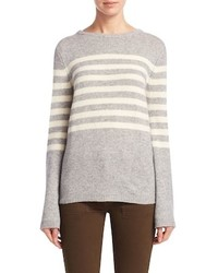 Cashmere striped sweater medium 6793110