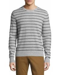 Saks Fifth Avenue Cashmere Striped Sweater