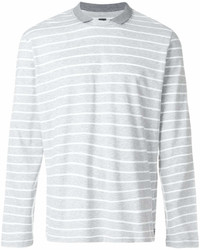 Eleventy Collar Striped Jumper