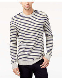 Club Room Low Tide Striped Sweater Created For Macys