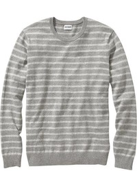 Old Navy Marled Stripe Crew Neck Sweaters
