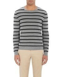 Michael Kors Michl Kors Striped Sweater Grey