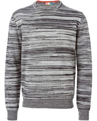 MSGM Striped Crew Neck Sweater
