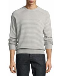 Original Penguin Penguin Feeder Stripe Crewneck Sweater