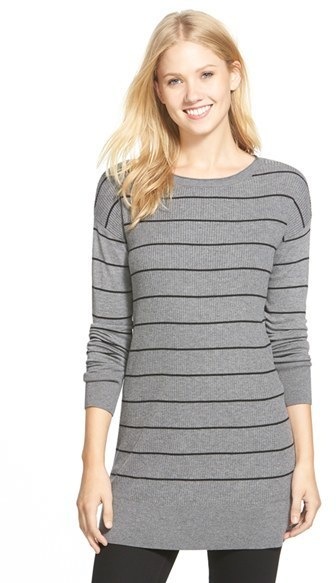 Caslon Rib Knit Tunic Sweater | Where to buy & how to wear