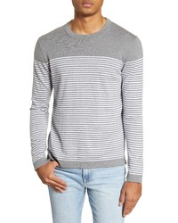 Benson Stripe Crewneck Sweater