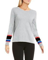 Stripe cuff sweater medium 1249553