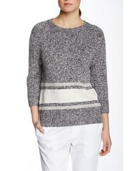 Derek Lam Striped Crew Neck Sweater