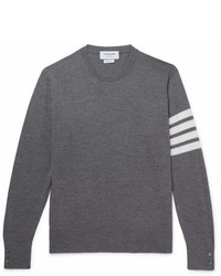 Thom Browne Striped Merino Wool Sweater