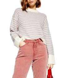 Topshop Waffle Stitch Sweater