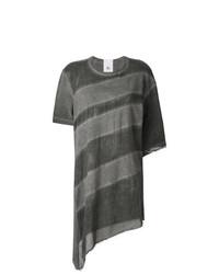 Sheer asymmetric t shirt medium 7894812
