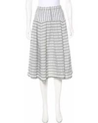 Cauliflower patterned a line skirt medium 6989333