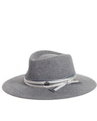 Maison Michel Charles Fur Felt Hat Grey