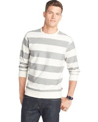Izod Classic Fit Striped French Terry Tee