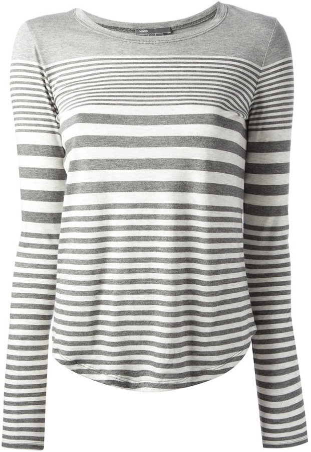 Vince Striped T Shirt