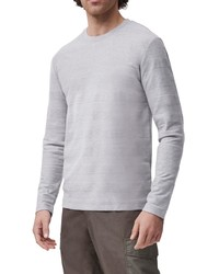 French Connection Textured Stripe Long Sleeve T Shirt