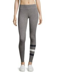 Sundry Striped Leg Yoga Pants