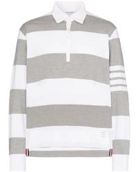 Thom Browne Striped Polo Shirt