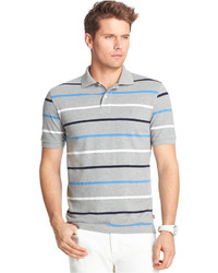 Izod Striped Pique Knit Polo