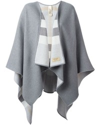 Burberry Striped Poncho