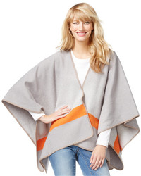 INC International Concepts Colorblocked Fleece Poncho Top Only At Macys