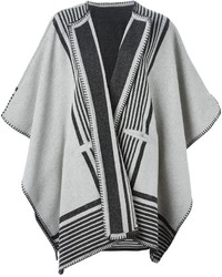 Mih jeans striped poncho medium 344652