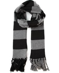 Golden goose deluxe brand striped scarf medium 130170