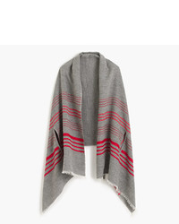 J.Crew Striped Cape Scarf