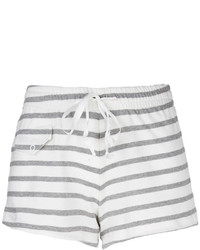 Solid striped striped lounge shorts medium 159379