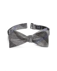 Nordstrom Renner Plaid Silk Bow Tie