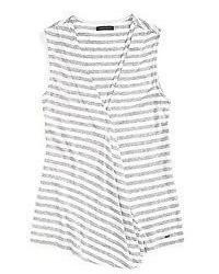 Stripe sleeveless top medium 647607