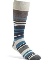 Nordstrom Blocked Stripe Socks