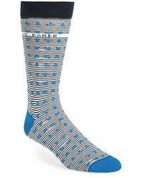 Ted Baker London Stripe Spot Socks