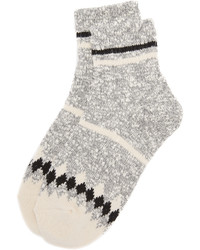 Madewell Striped Camp Ankle Mid Socks