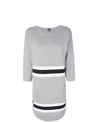 Lorena Antoniazzi Stripe Panel Jumper Dress